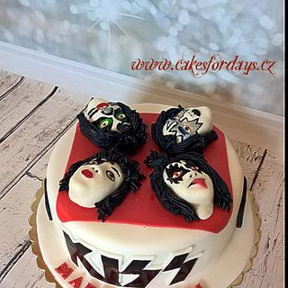 Kiss - rock cake - Cake by trbuch