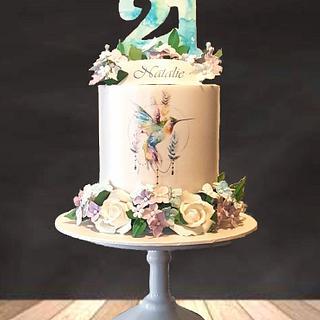 Natalie's 21st Cake