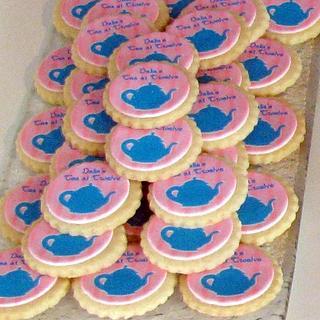 Dahlia's Tea Party Cookies - Cake by Cheryl