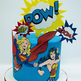 Girls power cake