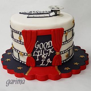 Movie theater  - Cake by Garima rawat