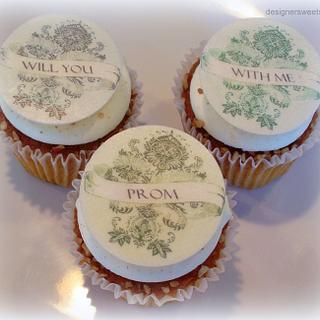 Will you prom with me?...Say it with cupcakes!