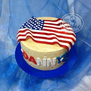 God Bless America - Cake by TheCake by Mildred