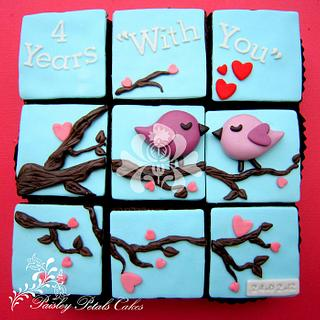 Whimsical Mini Cakes - Cake by Paisley Petals Cakes