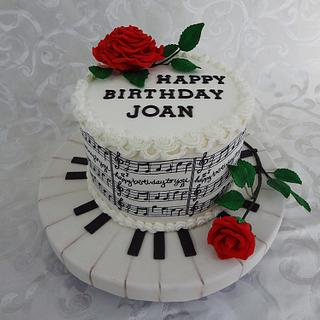 Piano Cake - Cake by Custom Cakes by Ann Marie