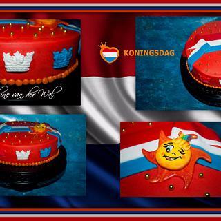Kingsday-games in The Netherlands - Jacqueline van der Wal - Cake by Jacqueline