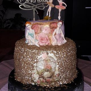 Ballet cake - Cake by Svilena Balevska