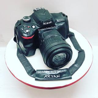 Nikon Camera Cake!  - Cake by Seema Tyagi