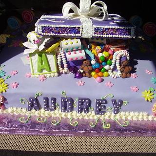 Birthday cake frm Enchanted on FB