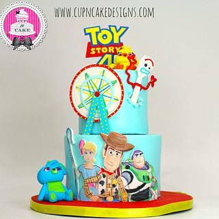 Toy Story 4 cake!