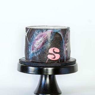 Galaxy - Cake by Anchored in Cake