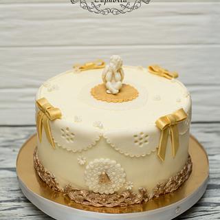 Christening Cake - Cake by Olya