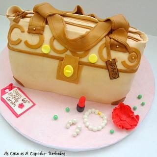 Coach Handbag Birthday Cake