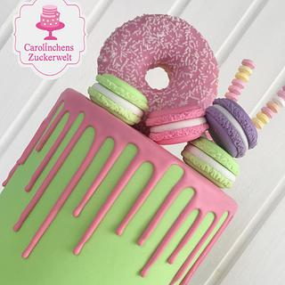 💕 Dripcake 💕 - Cake by Carolinchens Zuckerwelt
