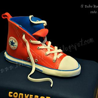Converse cake