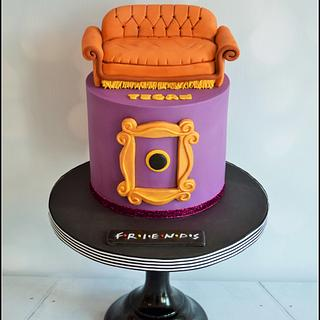 Friends - Cake by Dollybird Bakes