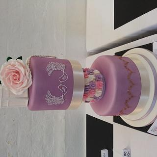 Vintage wedding cake - Cake by Cake Love