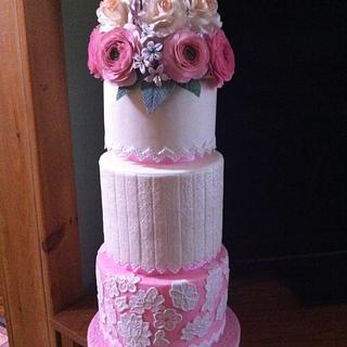 Wedding cake dummy