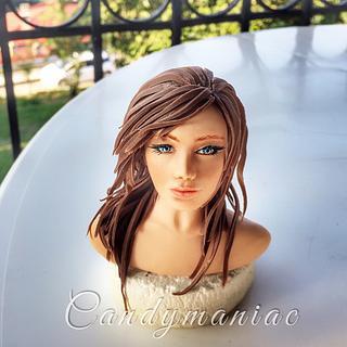 My little mountain girl  - Cake by Mania M. - CandymaniaC