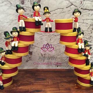 On the Twelfth day of Christmas......12 Drummers Drumming!