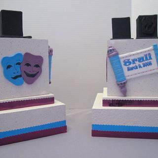 Purim Centerpiece - Cake by Cheryl
