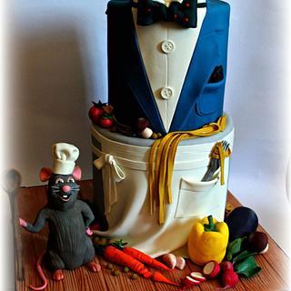 Chef-Gentleman  - Cake by Sabrina Di Clemente