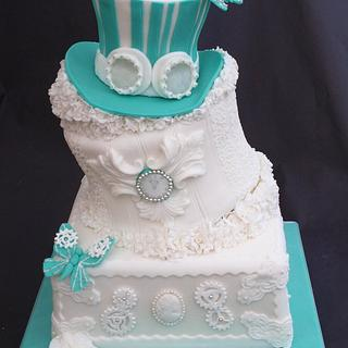Steampunk Ruffles - Cake and Bake show entry