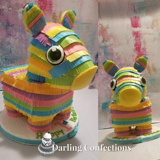 Pinata Cake - Birthday  - Cake by Jacqulin