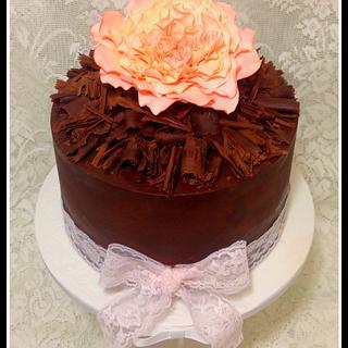 Chocolate Ganache cake - Cake by Rachel