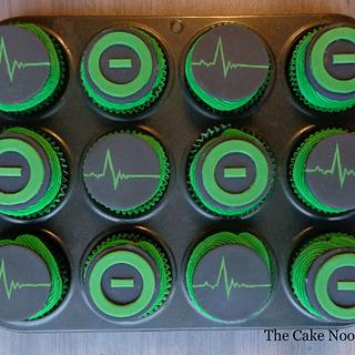 Type O Negative Cupcakes