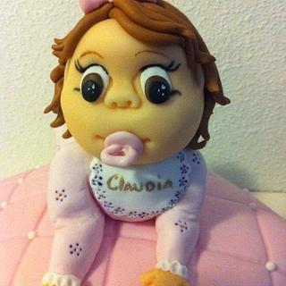 Pillow baby cake