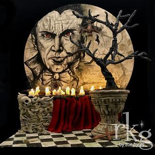 Dracula Diorama