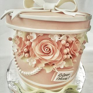 Rose box cake