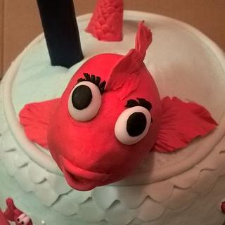 O'fishally One Cake - Cake by Ms. Shawn
