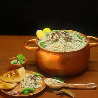 HYDERABADI BIRYANI (BASMATI RICE) — in India.