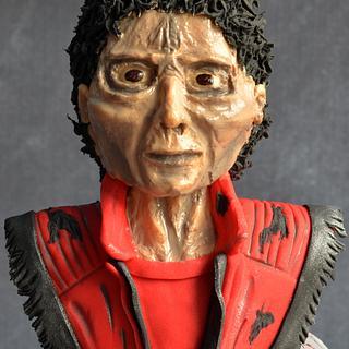 MJ-Triller, Halloween cake topper  - Cake by Hima bindu
