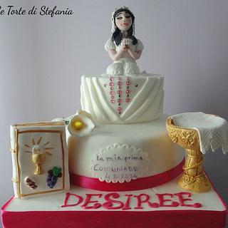 The comunion cake