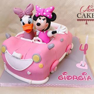 Minnie's Car 3D