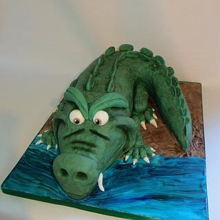 Cyril the crocodile