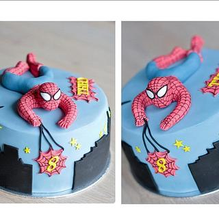 spiderman cake - Cake by Amelis
