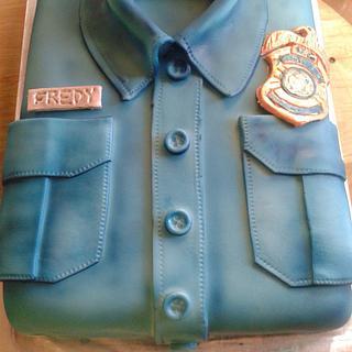 A TSA cake - Cake by the cake trend Elizabeth Rodriguez