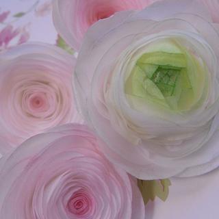 Rice Paper Roses...x.