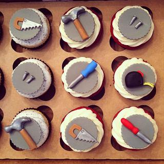 Handyman/Tool Cupcakes