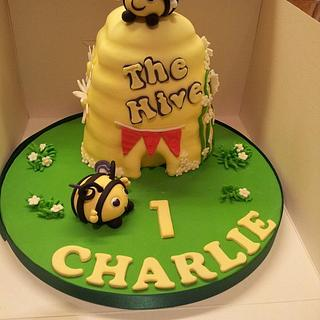 The Hive 1st Birthday Cake - Cake by Katescakes