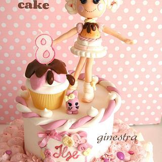 lalaloopsy cake - Cake by Ginestra