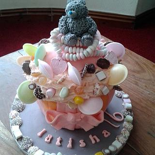 Giant Cupcake, Me to You and Sweeties ;)