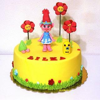 Poppy cake trolls