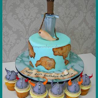 Viking Cake & Cupcakes