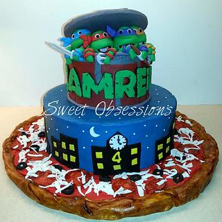 TMNT cake - Cake by Sweet Obsessions Cake Co