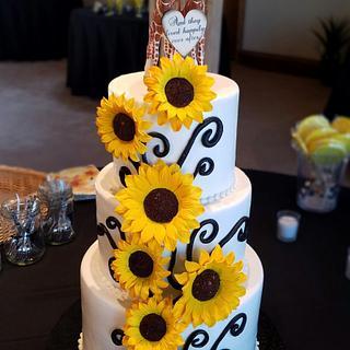 Bright & Cheery Sunflower Wedding